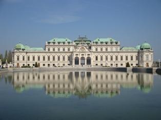 ヴェルベデーレ宮殿3.JPG