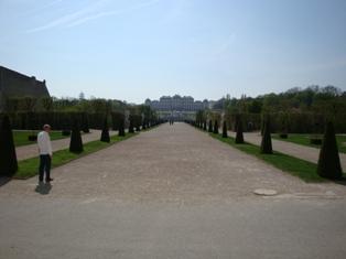 ヴェルベデーレ宮殿5.JPG