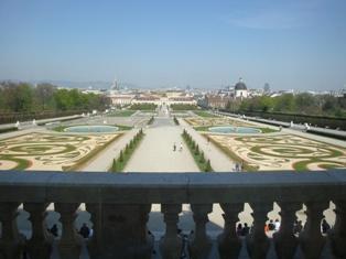 ヴェルベデーレ宮殿9.JPG
